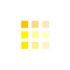 Жёлтые жидкие обои