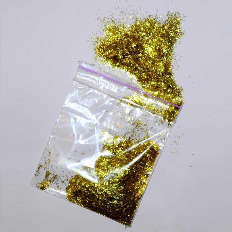 Блёстки золото-палочки