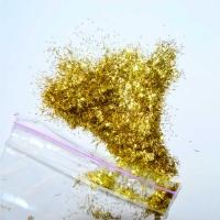 Блёстки золото-палочки 2