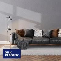 Жидкие обои Silk plaster Арт дизайн 235 интерьер