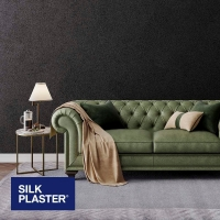 Жидкие обои Silk plaster Арт дизайн 283 интерьер