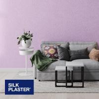 Жидкие обои Silk plaster Арт дизайн 294 интерьер