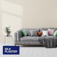 Жидкие обои Silk plaster Престиж 408 интерьер