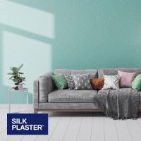 Жидкие обои Silk plaster Прованс интерьер 038