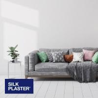 Жидкие обои Silk plaster Прованс 041 интерьер