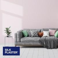 Жидкие обои Silk plaster Прованс интерьер 044