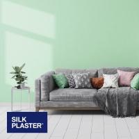 Жидкие обои Silk plaster Прованс интерьер 045