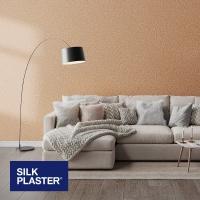 Жидкие обои Silk plaster Прованс интерьер 048