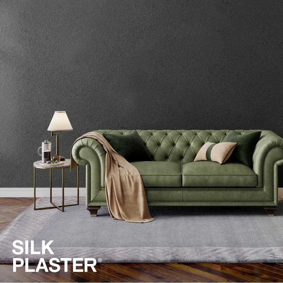 Жидкие обои Silk plaster Silk plaster Арт дизайн 210 интерьер