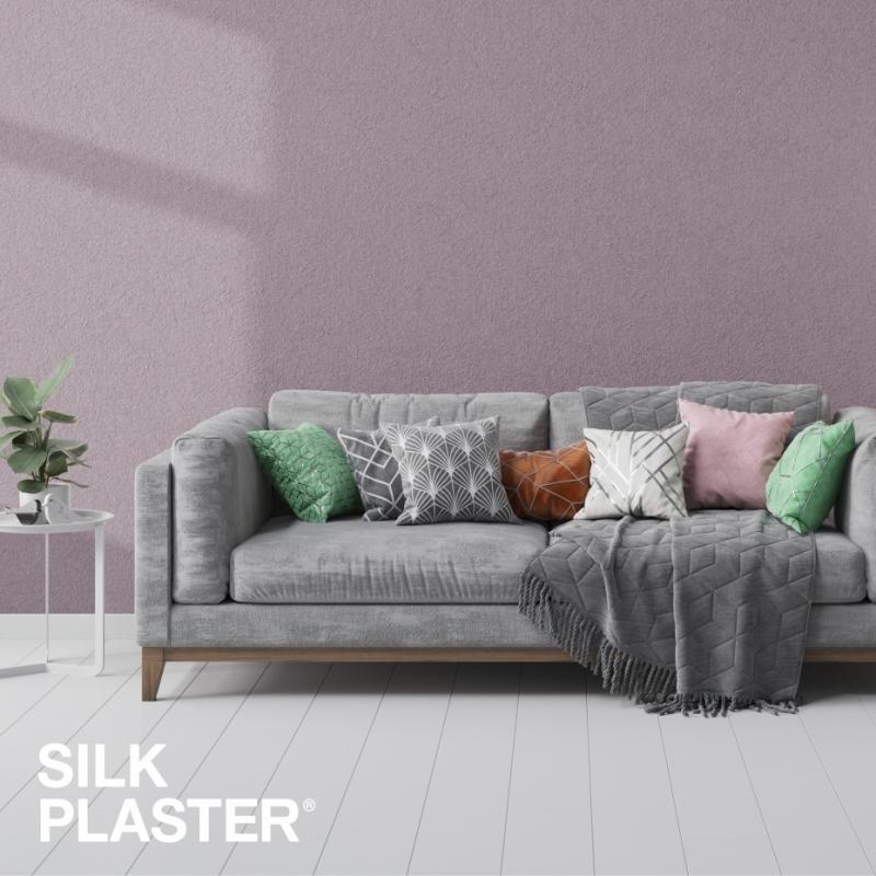 Жидкие обои Silk plaster Silk plaster Арт дизайн 216 интерьер