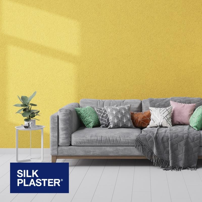 Жидкие обои Silk plaster Арт дизайн 222 интерьер