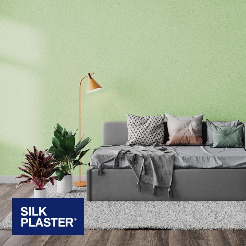 Жидкие обои Silk plaster Арт дизайн 230 интерьер