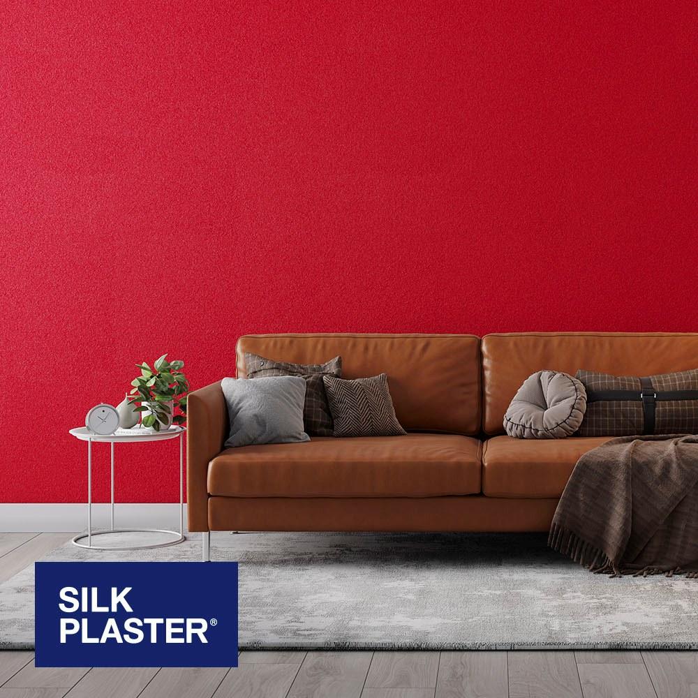 Жидкие обои Silk plaster Арт дизайн 245 интерьер