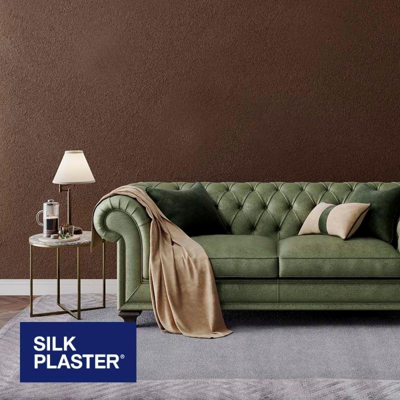 Жидкие обои Silk plaster Арт дизайн 247 интерьер