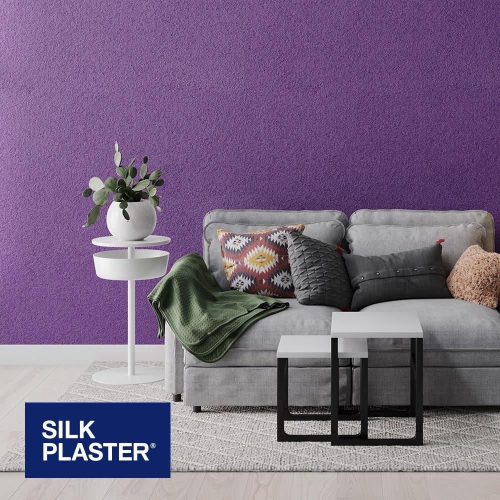 Жидкие обои Silk plaster Арт дизайн 254 интерьер
