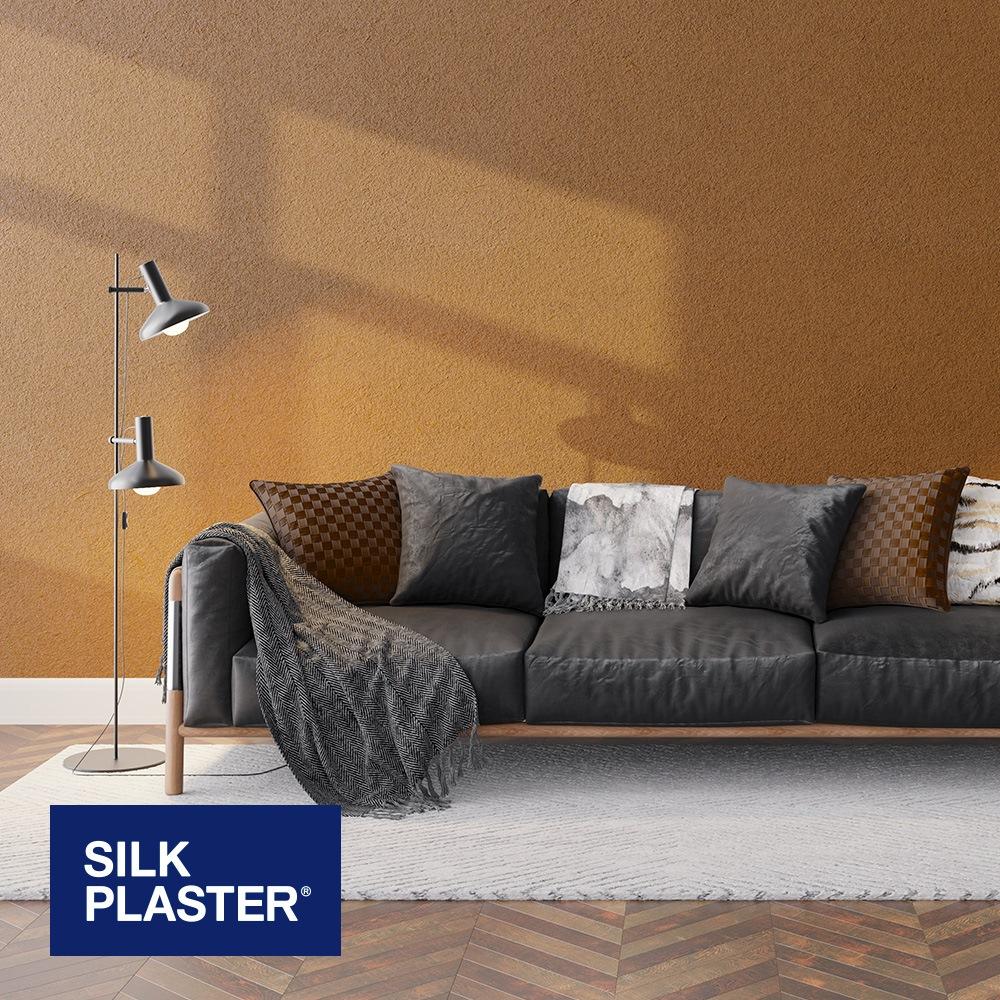 Жидкие обои Silk plaster Арт дизайн 255 интерьер