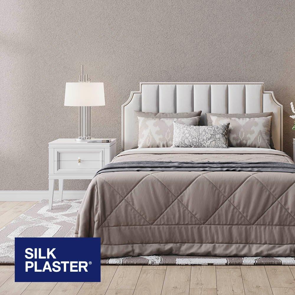 Жидкие обои Silk plaster Арт дизайн 286 интерьер