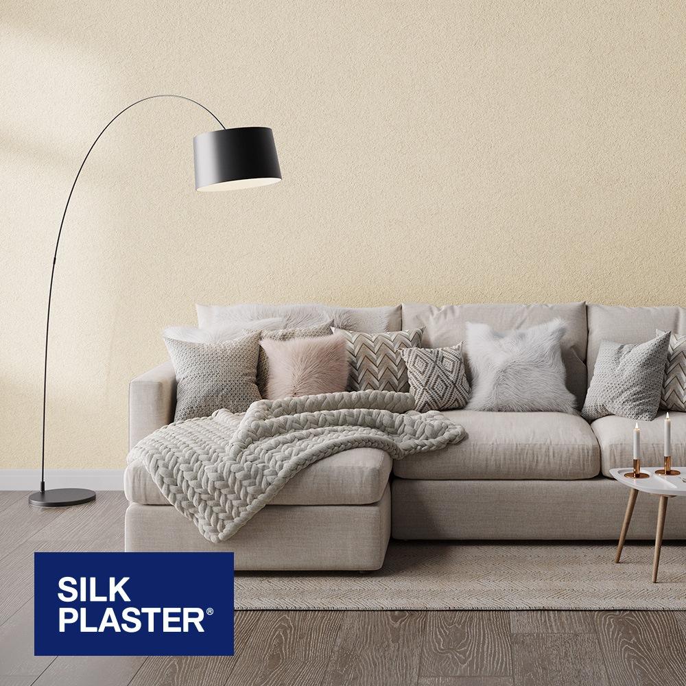 Жидкие обои Silk plaster Арт дизайн 297 интерьер