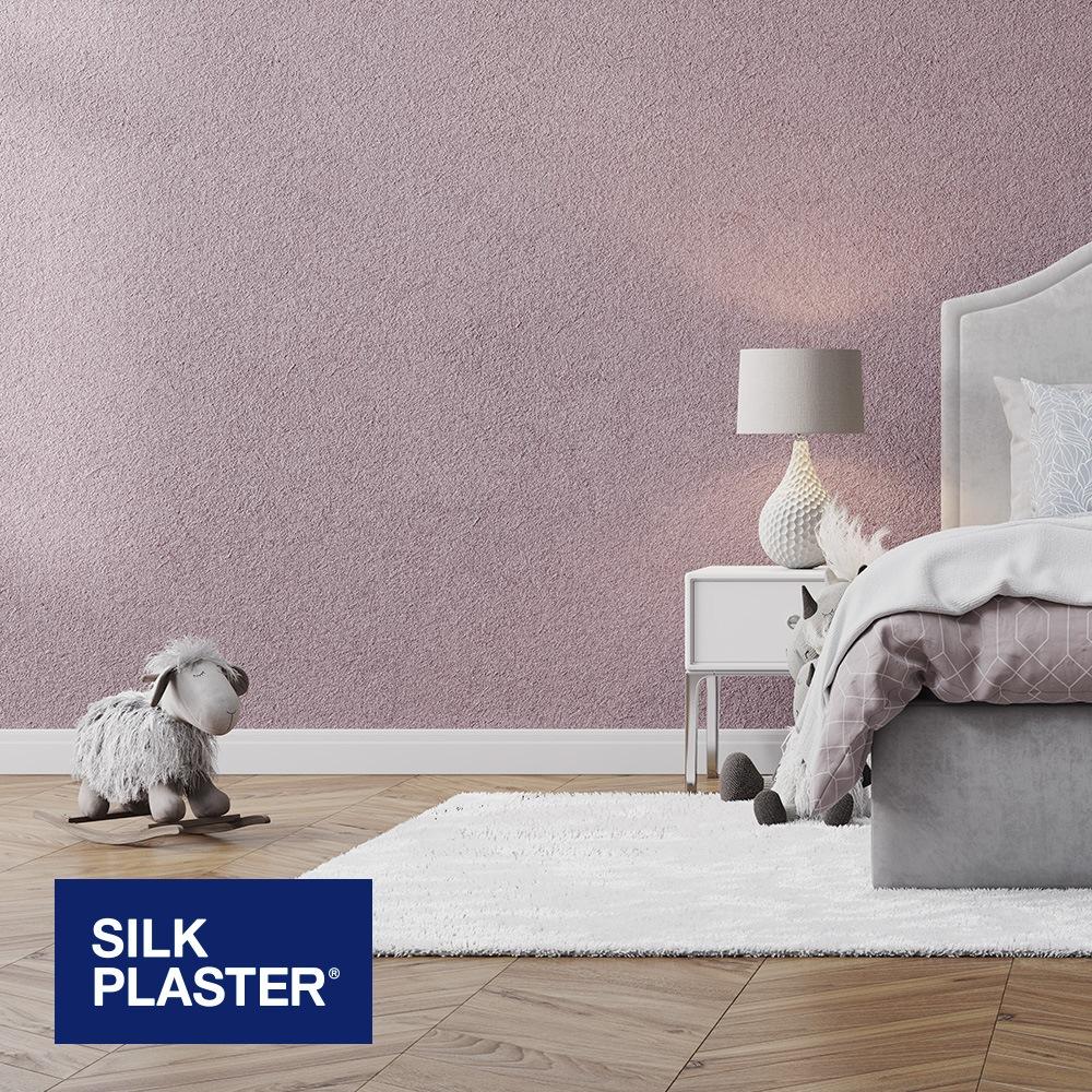 Жидкие обои Silk plaster Арт дизайн 298 интерьер