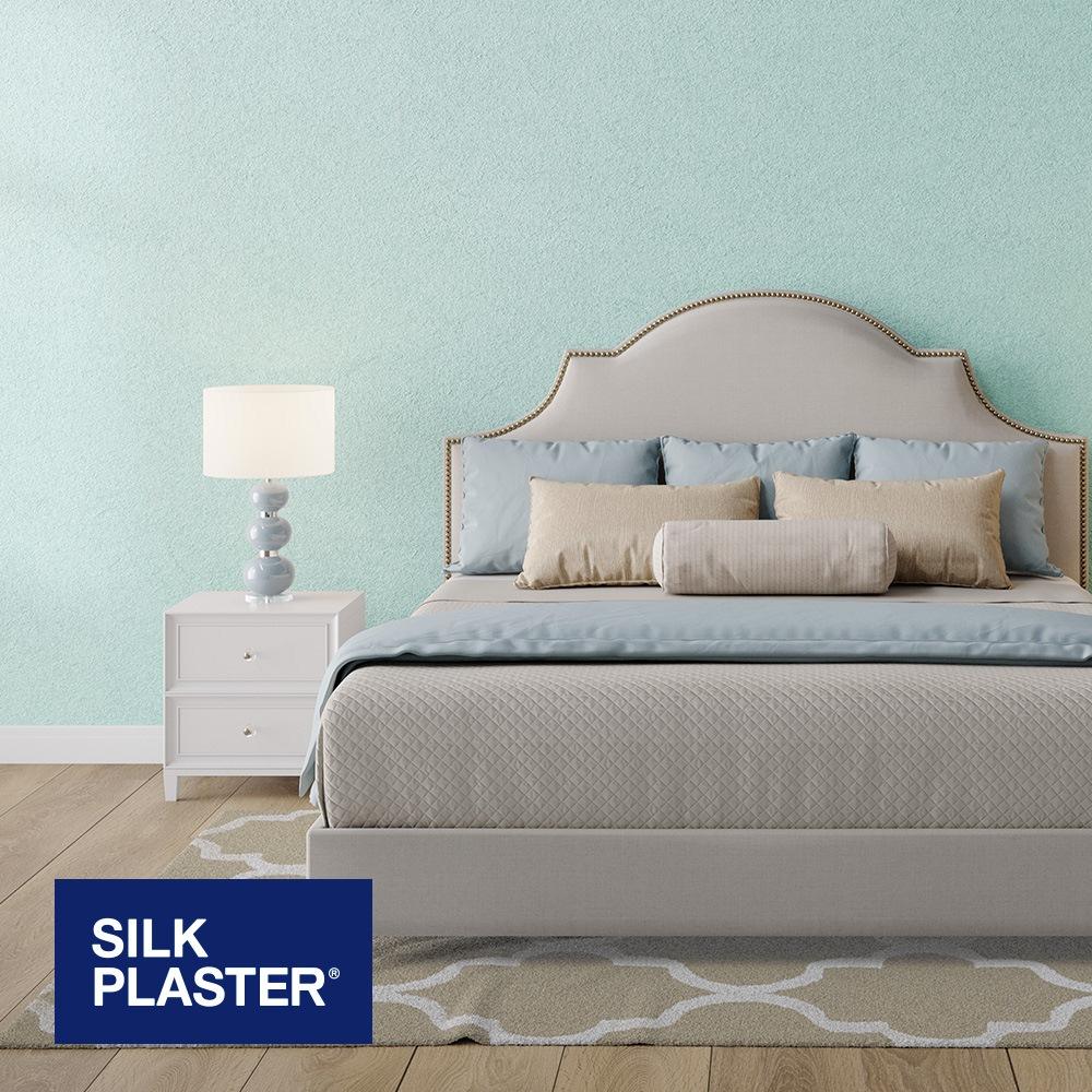 Жидкие обои Silk plaster Арт дизайн 301 интерьер