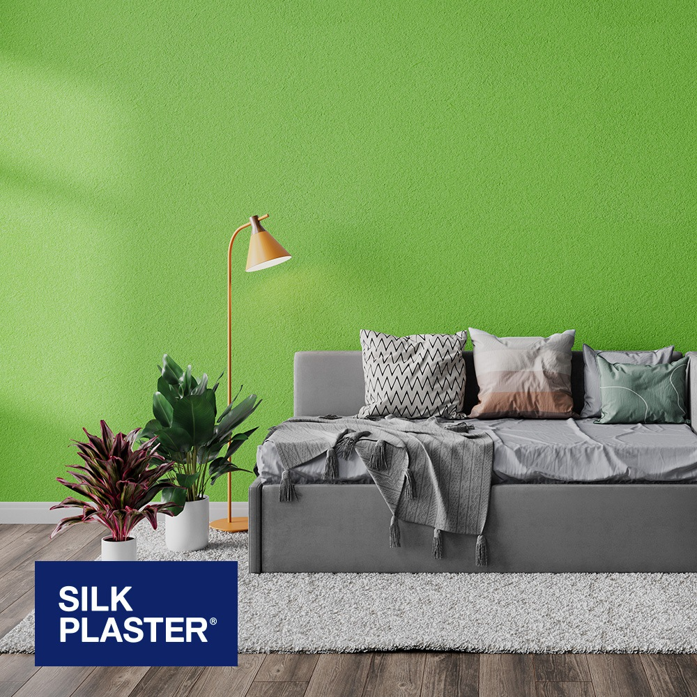 Жидкие обои Silk plaster Silk plaster Арт дизайн 302 интерьер