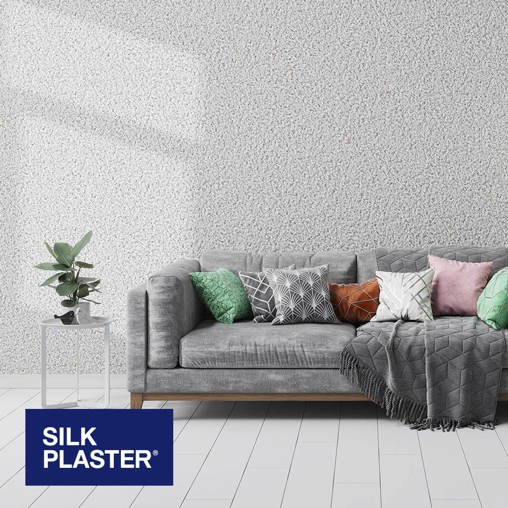 Жидкие обои Silk plaster Престиж 401 интерьер