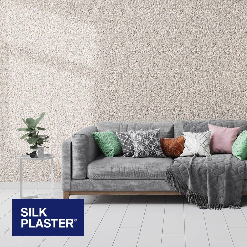 Жидкие обои Silk plaster Престиж 409 интерьер