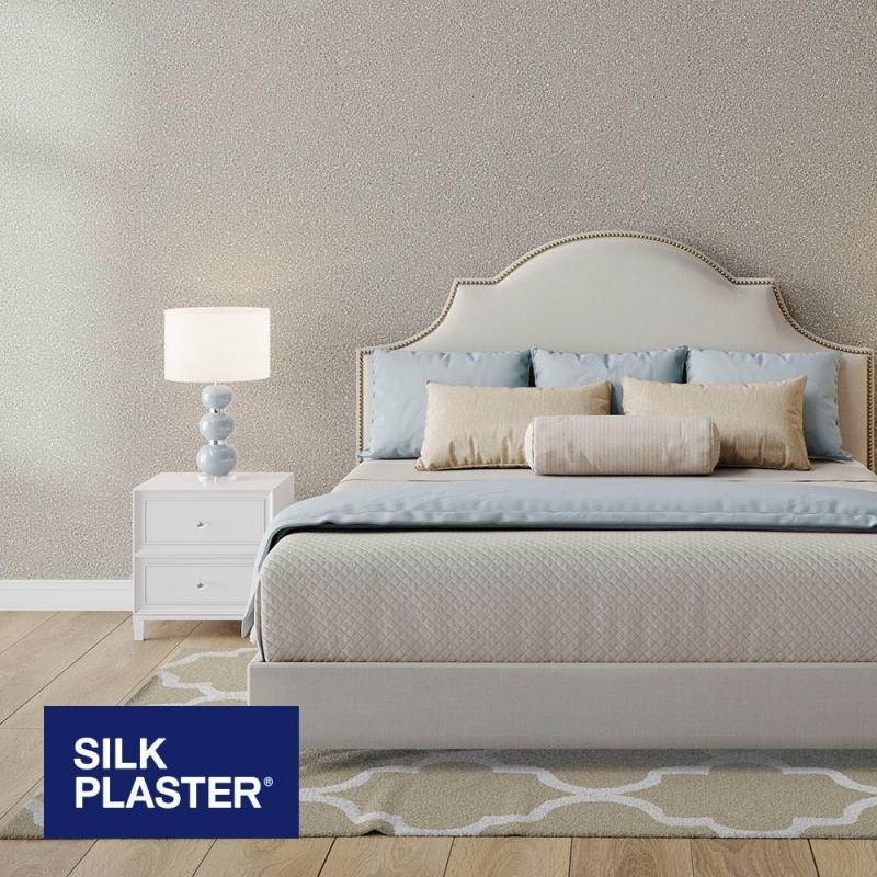 Жидкие обои Silk plaster Прованс 050 интерьер
