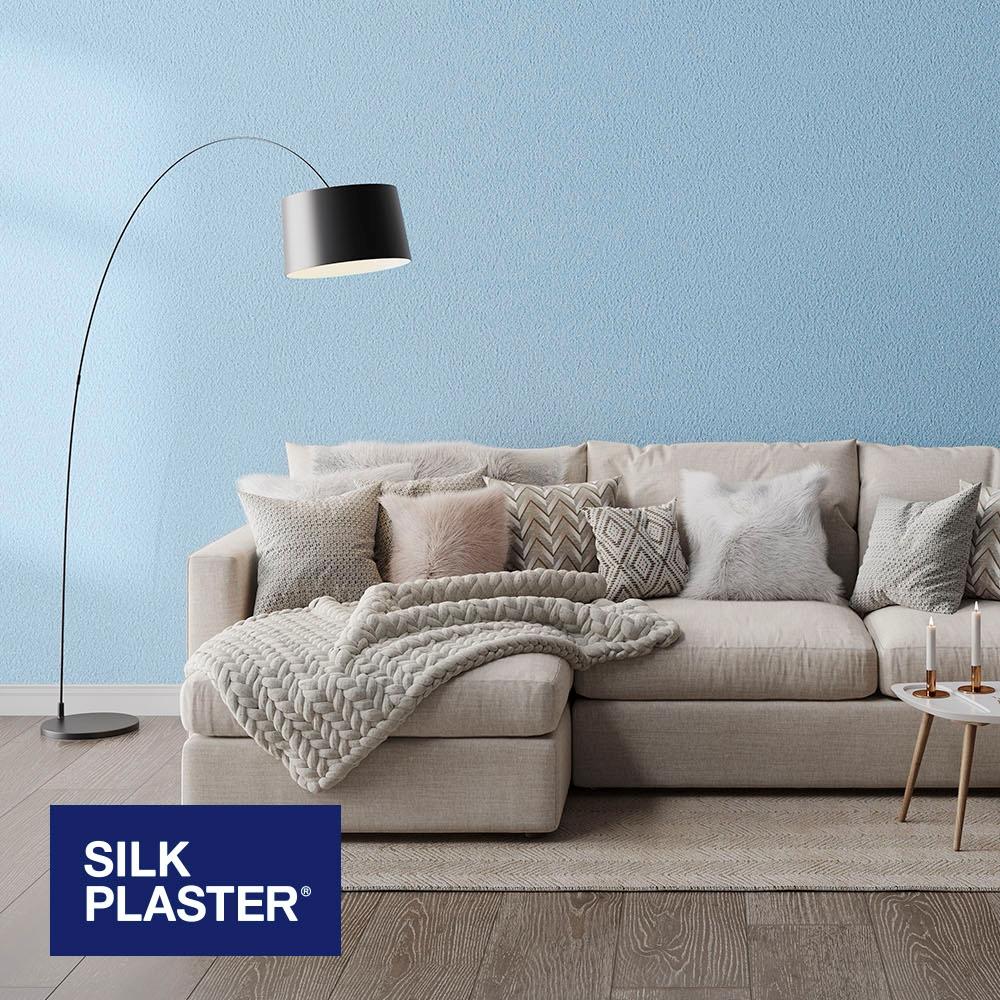 Жидкие обои Silk plaster Прованс интерьер 047